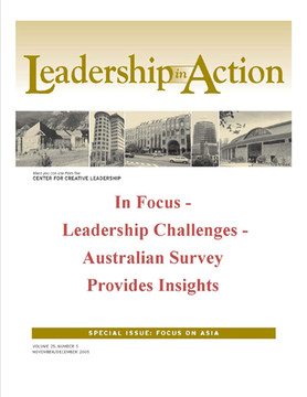 Leadership in Action: In Focus - Leadership Challenges - Australian Survey Provides Insights