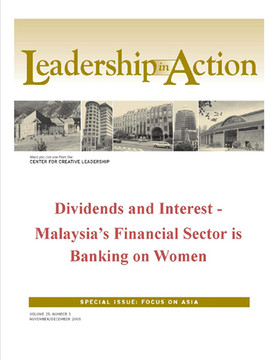 Leadership in Action: Dividends and Interest - Malaysia's Financial Sector is Banking on Women