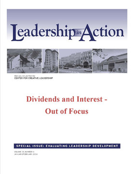 Leadership in Action: Dividends and Interest - Out of Focus