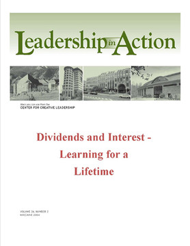 Leadership in Action - Dividends and Interest - Learning for a Lifetime