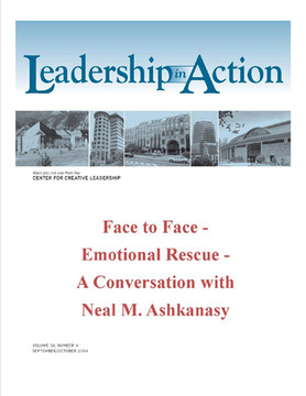 Leadership in Action: Face to Face - Emotional Rescue - A Conversation with Neal M. Ashkanasy