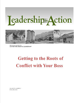 Leadership in Action: Getting to the Roots of Conflict with Your Boss