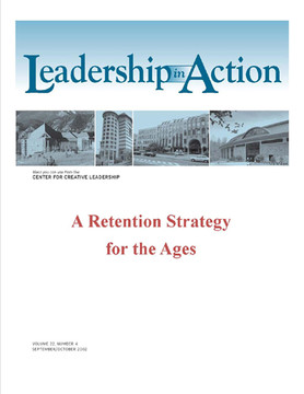 Leadership in Action: A Retention Strategy for the Ages