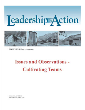 Leadership in Action: Issues and Observations - Cultivating Teams