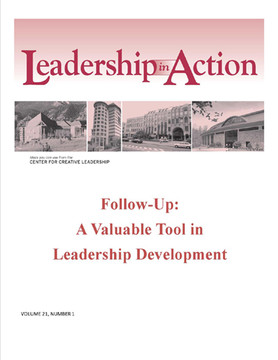 Leadership in Action: Follow-Up - A Valuable Tool in Leadership Development