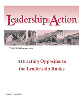 Leadership in Action: Attracting Opposites to the Leadership Ranks