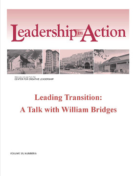 Leadership in Action: Leading Transition: A Talk with William Bridges
