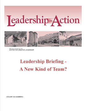 Leadership in Action: Leadership Briefing - A New Kind of Team?