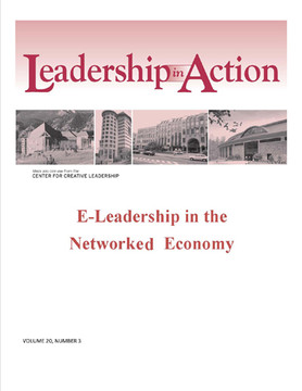 Leadership in Action: E-Leadership in the Networked Economy