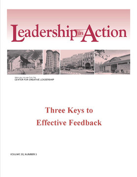 Leadership in Action: Three Keys to Effective Feedback