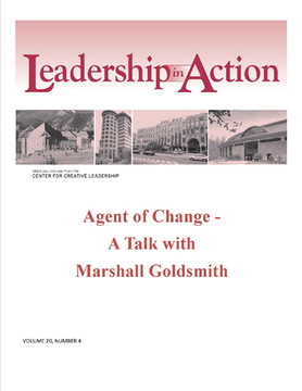 Leadership in Action: Agent of Change - A Talk with Marshall Goldsmith