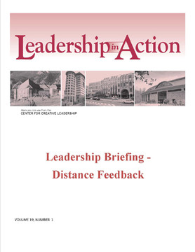 Leadership in Action: Leadership Briefing - Distance Feedback