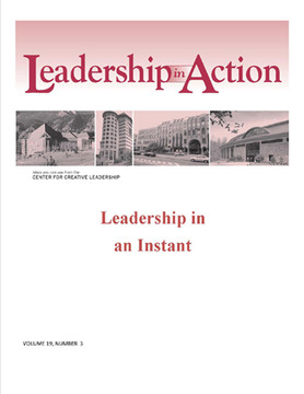 Leadership in Action: Leadership in an Instant