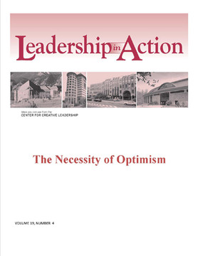 Leadership in Action: The Necessity of Optimism