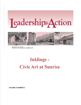 Leadership in Action: Inklings - Civic Art at Sunrise