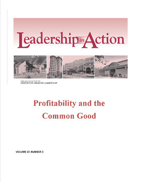 Leadership in Action: Profitability and the Common Good