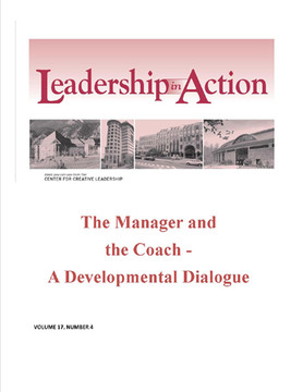 Leadership in Action: The Manager and the Coach - A Developmental Dialogue