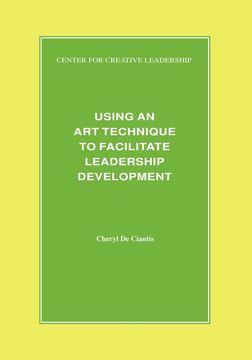 Using an Art Technique to Facilitate Leadership Development
