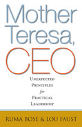 Cover of Mother Teresa, CEO
