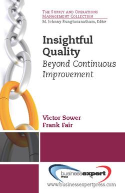 Insightful Quality