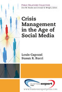 Cover of Crisis Management in the Age of Social Media