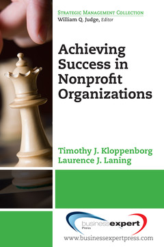 Achieving Success in Nonprofit Organizations
