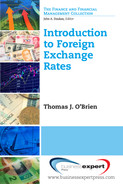 Book cover for Introduction to Foreign Exchange Rates