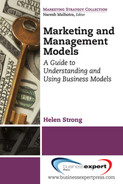 Cover of Marketing and Management Models