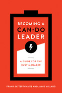 Cover of Becoming a Can-Do Leader: A Guide for the Busy Manager