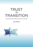 Cover of Trust in Transition: Navigating Organizational Change