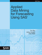 Cover of Applied Data Mining for Forecasting Using SAS(R)
