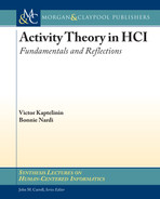 Cover of Activity Theory in HCI