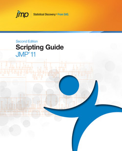 JMP 11 Scripting Guide, Second Edition, 2nd Edition