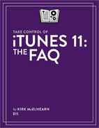 Cover image for Take Control of iTunes 11: The FAQ