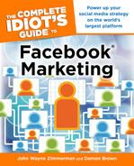 Cover of The Complete Idiot's Guide to Facebook Marketing