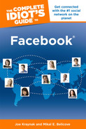 Cover of The Complete Idiot's Guide to Facebook, 3rd Edition
