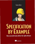 Cover of Specification by Example: How Successful Teams Deliver the Right Software