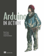 Cover of Arduino in Action