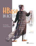 Cover of HBase in Action: Foreword by Michael Stack