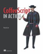 Cover of CoffeeScript in Action