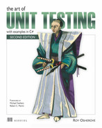 Cover of The Art of Unit Testing, Second Edition: with examples in C#