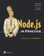 Cover of Node.js in Practice