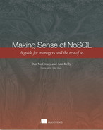 Cover of Making Sense of NoSQL: A guide for managers and the rest of us
