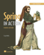 Cover of Spring in Action, 4th Edition: Covers Spring 4