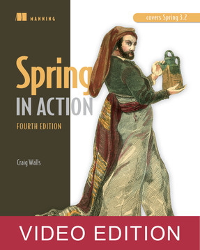 Spring in Action, 4th Ed, Video Edition