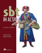 Cover of sbt in Action