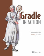 Cover of Gradle in Action