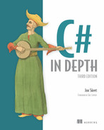 Cover of C# in Depth, Third Edition: Foreword by Eric Lippert