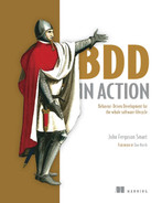 Cover of BDD in Action: Behavior-Driven Development for the whole software lifecycle