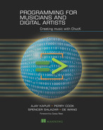 Cover of Programming for Musicians and Digital Artists: Creating music with ChucK